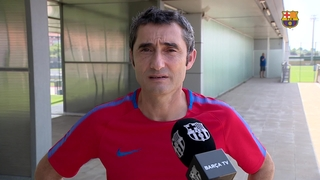 Declaracions Ernesto Valverde sobre l'atemptat de Barcelona 2017