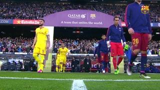 FC Barcelona 6 – Sporting de Gijón 0 (3 minutes)