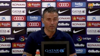 FC Barcelona head coach Luis Enrique not making any excuses