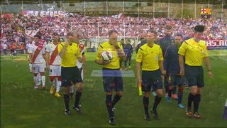 Rayo Vallecano 0 - FC Barcelona 2 (5 minutes)