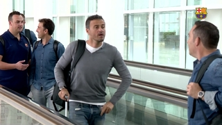 FC Barcelona are in Vigo