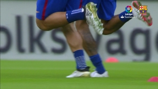 Music video Valencia 2 - FC Barcelona 3