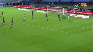 Celta de Vigo 4 - FC Barcelona 3 (1 minut)