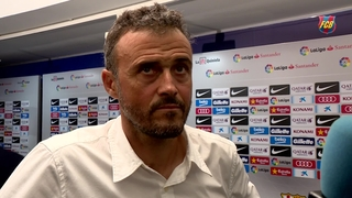Luis Enrique identifies mistakes in defeat