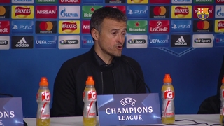 FC Barcelona manager Luis Enrique: Qualification is something to be commended