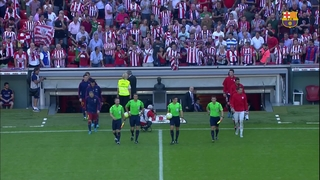 Athletic Club 0 – FC Barcelona 1 (5 minutos)
