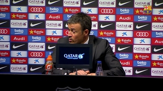 "Luis Enrique: ""The league is still in our own hands"""