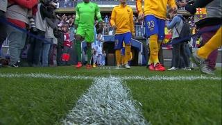 Màlaga CF 1 - FC Barcelona 2 (3 minuts)