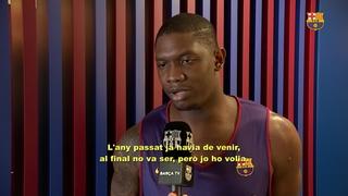 Kevin Séraphin: físic i anotació a la zona per al Barça Lassa
