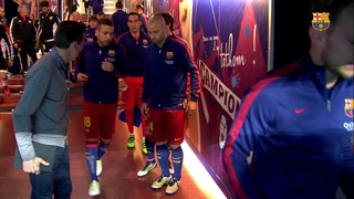 FC Barcelona 1 – Valencia CF 2 (3 minutos)