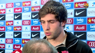 Sergi Roberto and Ter Stegen satisfied with win against Athletic Club