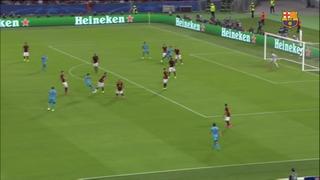 Roma 1 – FC Barcelona 1 (1 minute)