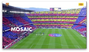 "Things about Catalonia that are linked to Barça: Lesson 2 ""Mosaic"""