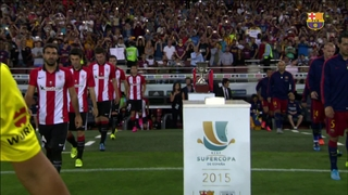 FC Barcelona 1 - Athletic Club 1 (2 minutos)