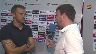 "Luis Enrique: ""Leganés were very brave"""