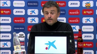Luis Enrique gets just what he wanted from the team at Espanyol