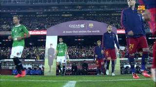 FC Barcelona 6 – Villanovense 1 (1 minute)