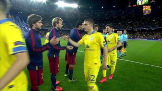 FC Barcelona 3 - BATE 0