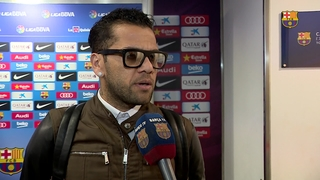 Dani Alves' post game reaction to 4-0 win over Granada