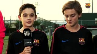 L'Infantil B, protagonista a Barça TV