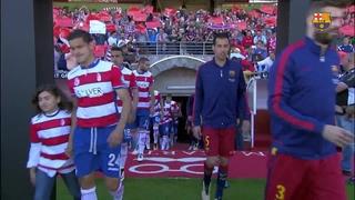 Granada 0 - FC Barcelona 3 (1 minute)