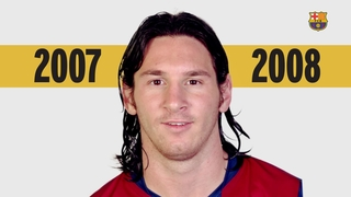 Leo Messi's face morphing