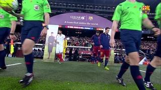 FC Barcelona 2 – Sevilla FC 1 (3 minutos)