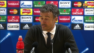 "Luis Enrique: ""I am happy about everything in the game"""
