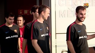 El Barça Lassa comença la pretemporada amb les revisions mèdiques