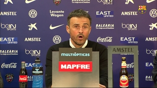 Luis Enrique feeling marvellous after tough win
