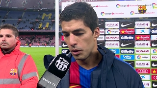 FC Barcelona players react to cup victory against Athletic Club