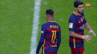 Sporting de Gijón 1 – FC Barcelona 3 (3 minutes)