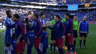 RCD Espanyol 0 – FC Barcelona 0 (3 minutes)