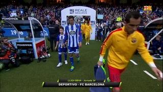 Deportivo de La Coruña 0 - FC Barcelona 8