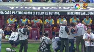 Atlético de Madrid 1 – FC Barcelona 2 (2 minutes)