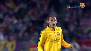 Neymar's magical match against Rayo