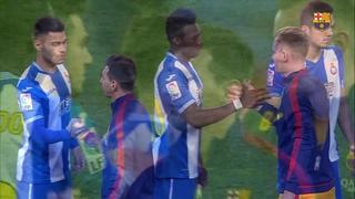 RCD Espanyol 0 – FC Barcelona 2 (3 minutos)