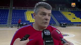 """Xavi Pascual: """"El BM Logronyo La Rioja ens ha complicat sempre les coses"""""""