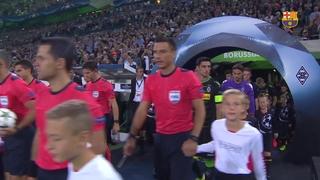 Borussia Mönchengladbach - FC Barcelona (3 minutos)