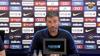 "Luis Enrique: ""El Clásico was a big injection of morale for us"""