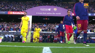 FC Barcelona 6 – Sporting de Gijón 0 (1 minute)