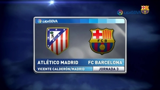 At. Madrid 1 - FC Barcelona 2 (2 minutes)