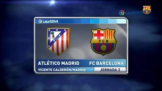 At. Madrid 1 - FC Barcelona 2 (2 minutos)