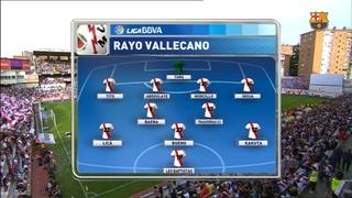 Rayo Vallecano 0 - FC Barcelona 2