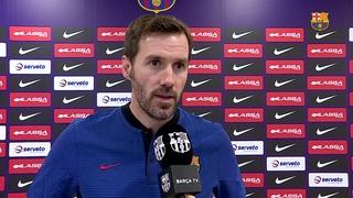 Iván Sanz, nou entrenador del júnior i del Barça Lassa B