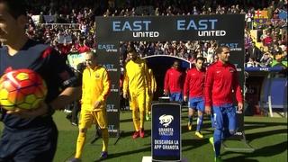 Llevant 0 - FC Barcelona 2 (3 minuts)