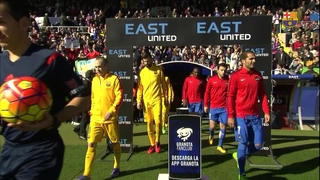 Levante 0 - FC Barcelona 2 (3 minutes)