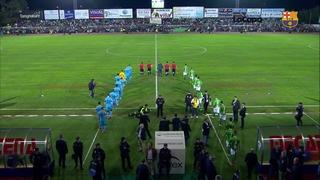 CF Villanovense 0 - FC Barcelona 0 (3 minutes)