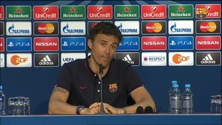 Luis Enrique says team is where it wanted to be