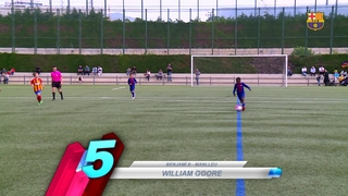 The Top 5 goals from the academy (12-13 May)